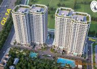Căn hộ Ruby City DT 45m2, giá 17tr/m2, đầy đủ nội thất, có bể bơi. LH 0986603136