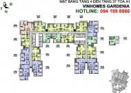 Bán lỗ 2 CH 1811-A1(110.6m2) và 2008-A2(73,1m2) CC Vinhomes Gardenia, giá 32tr/m2, 0961980322