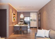 Bán căn hộ 3PN, diện tích 90m2 tòa chung cư HUD3 Nguyễn Đức Cảnh, Hoàng Mai, HN