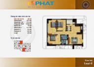 Gia đình bán căn hộ 3pn dt 96m2 giá 24tr/m2 ( có TL ) cc C21 bộ công an lê văn lương