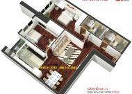 Bán căn 93m2 chung cư Golden Land nội thất cơ bản 2.653 tỷ. Liên hệ: 0981152882