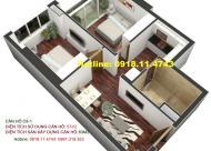 Cần bán căn 63m2 chung cư Golden Land 2.35 tỷ bao sang tên: 0981152882