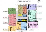 Bán căn hộ chung cư Cầu Giấy Center Point, căn tầng 1606 DT: 77.2m2 giá: 33.5tr/m2 LH: 0989540020