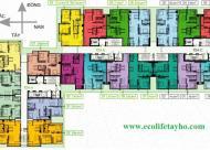 Chính chủ bán CH Ecolife Tây Hồ, 1405 – A: 88m2 và 2002 – C: 94.6m2, 25 triệu/m2. LH: 0987.017.763