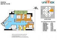 CC Unimax 210 Quang Trung – nhà đẹp ở ngay - nhận ngay quà tặng trị giá từ 30 triệu