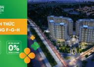 Chỉ 190tr sở hữu ngay 2PN tại quận Hà Đông, Full nội thất, CK 2%, hỗ trợ LS 0% đến lúc nhận nhà.LH:0972397793