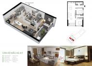Bán căn hộ Cầu Giấy Center Point, căn 11 tầng 11. DT 65m2, giá 35tr/m2