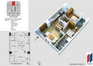 Chính chủ cần bán căn hộ chung cư Hapulico tòa 21T, 2 phòng ngủ, 77m2