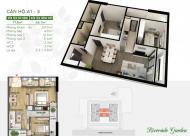 Cần tiền bán gấp CC Riverside Garden, căn 18-01, DT: 68m2, giá 28 tr/m2, Chú Phú: 0971864816 (MTG)