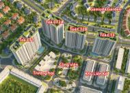 Bán CC 885 Tam Trinh CT2B: 1602 - 66,8m2, CT2A: 1512 - 70,9m2, 1610 - 92,9m2, giá 18 tr/m2LH: 0904 696 118