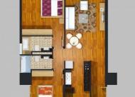 Chính chủ bán cắt lỗ căn góc 06 diện tích 97,3m2  chung cư New Skyline CC2 Văn Quán. LH 0962.558.742