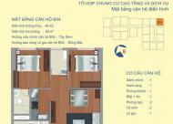 Bán căn góc view Sông Hồng 604 full đồ chung cư 122 Vĩnh Tuy thiết kế 2PN