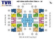 Cần tiền nên  bán căn chung cư Tứ Hiệp Plaza, căn 1509, tòa A, DT 84,03m2, giá 18tr/m2: 0963922012