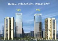 Bán gấp căn hộ 3 phòng ngủ, diện tích 113.5m2 chung cư VP4 bán đảo Linh Đàm, ban công Nam