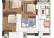 Tôi đang cần bán gấp căn hộ ngõ 234 Hoàng Quốc Việt, 96m2, 3pn, căn góc, giá 26 tr/m2, tầng 10