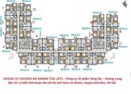 Bán cắt lỗ sâu The Golden An Khánh 18T, tầng 12-18, DT: 69m2, 2PN, 12 tr/m2. LH: 0971864816