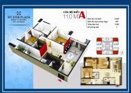 Cc bán gấp căn hộ Mỹ Đình Plaza 1- 138 Trần Bình(PCC1), tầng 12, hướng TB, DT 110m2, giá 28 ỷ