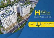 Chính thức nhận đặt chỗ chọn căn rẻ, đẹp dự án Hà Nội Homeland, Nguyễn Văn Cừ, giá từ 1,1 tỷ/căn