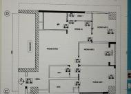 Bán căn hộ ngoại giao 121m2, 24 tr/m2, full nội thất, Bắc Từ Liêm, Hà Nội