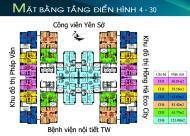 Chủ nhà cần bán CHCC  Tứ Hiệp Plaza, căn 1508 tòa B, DT 64.89m2, giá 20 tr/m2: 0936071228