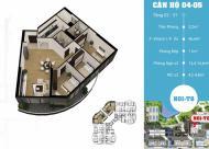 Bán căn hộ 147m2, 3PN, siêu đẹp siêu rẻ, full nội thất khu Ngoại Giao Đoàn