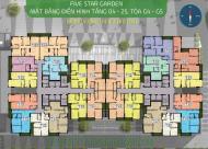 Bán gấp căn hộ chung cư Five Star Kim Giang căn 1506 tòa G5 DT 84.45m2 giá 25 tr/m2
