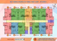 Bán gấp căn 69m2 chung cư Tăng Thiết Giáp, ban công Đông Nam, giá: 22tr/m2. LH: 0962795126