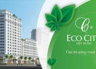 Nhận nhà ngay chung cư Eco City Việt Hưng, nội thất nhập khẩu, tặng quà 90 tr