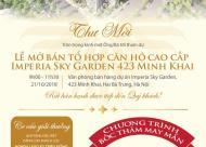 CC Imperia Sky garden Minh Khai - Ưu đãi 30tr/m2, lh 0984147128