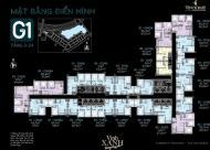 Bán căn hộ chung cư Green bay căn 1617 (64m2) G1, giá 2.6 tỷ