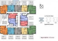 Bán gấp căn hộ 6 tòa K3 The K Park, 2 PN, 2 WC, hướng mát view đẹp + nội thất
