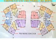 Vợ chồng tôi bán gấp chung cư CT1 Yên Nghĩa căn 1804 tòa A DT 67.43m2, giá 12.3tr/m2, LH 0902215707
