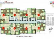 Chính chủ  căn hộ 1002 DT 81,2m2 chung cư 89 Phùng Hưng, cần tiền bán gấp giá 17.5tr/m2:0936071228