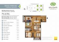 Chính chủ bán gấp căn góc 3 PN Sky Park Residence, tầng trung, hướng mát, view công viên, bao phí