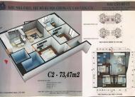 Với 800 triệu sở hữu ngay căn 3PN, 73.47m2 tại dự án CT1 Yên Nghĩa. LH 0978900401