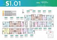 Bán căn hộ cao cấp Studio chỉ với 950 triệu đồng dự án Vinhomes Smart City Tây Mỗ