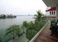 Bán nhà mặt Hồ Tây phố Nguyễn Đình Thi 5 tầng x 64m2, MT 6.2m