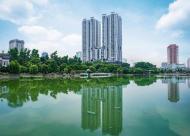 Trải nghiệm không gian sống tràn ngập cây xanh và hồ điều hoà tại chung cư New Skyline 21tr/m2